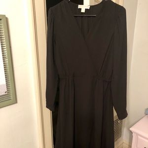 Michael Kors Long-Sleeve Dress